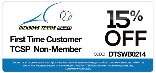 15 percent off coupon for first time customer