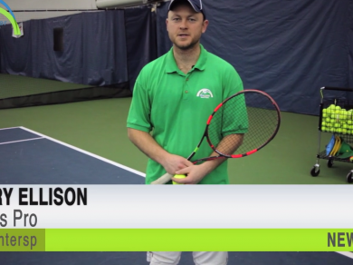 Tennis Pro Jerry Ellison gives some great pointers on the Kick Serve for this tennis tip of the week.