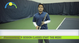 Jason Neri talks about the Hop-Skip Approach Shot for this weeks TCSP tennis tip of the week!