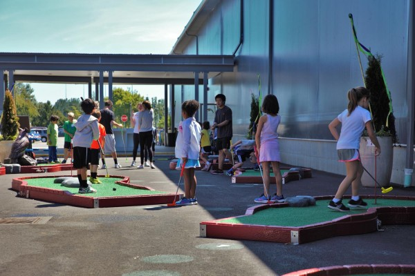 Minigolf Tennis Center Sandpoint
