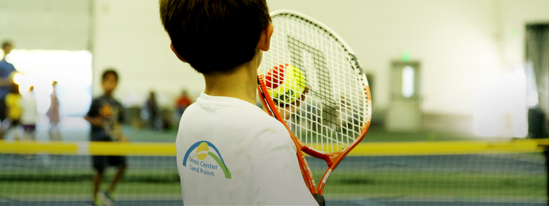 Junior Tennis program for children between the ages of 3 and 18