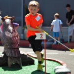 Minigolf at Tennis Center